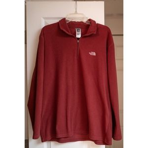 North Face Thin Red Fleece